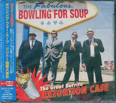 Bowling For Soup - The Great Burrito Extortion Case - Japan CD+2 - NEW