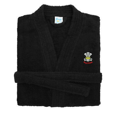 Royal Welsh Embroidered Dressing Gown
