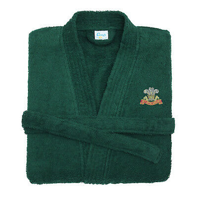 10th Royal Hussars Embroidered Dressing Gown