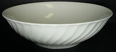 GIBSON DESIGNS china SEA SHELL white ROUND VEGETABLE Serving BOWL 9-1/4""