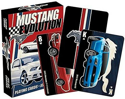 Ford Mustang set of 52 playing cards (nm)