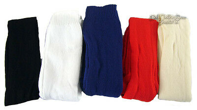 Red, White, Navy Blue, Black, Ivory Tights for American Girl Doll Clothes 5 PAIR