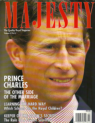 PRINCE CHARLES UK Royalty Monthly Magazine Vol 13 No 11 THE OTHER SIDE