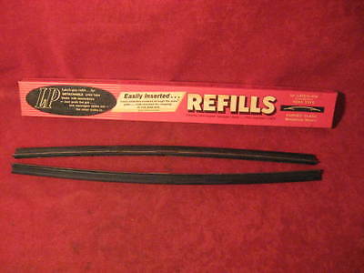 NOS 1959-1974 Chevy & Corvette Olds Pontiac Plymouth wiper blade refills  LP-15