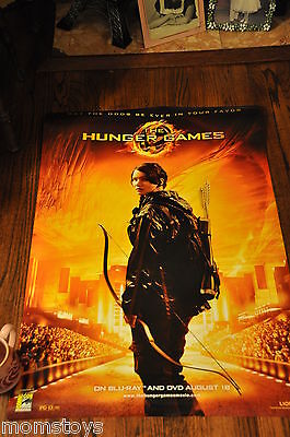 Sdcc Comic Con The Hunger Games Exclusive  Dvd Movie Poster Katniss