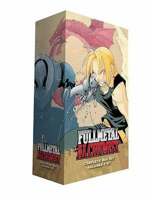 Hiromu Arakawa Fullmetal Alchemist Box Set 1-27 Books Collection Set NEW PB