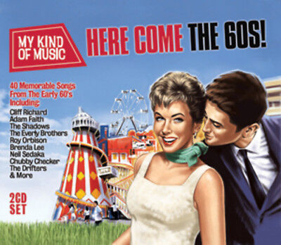 Various Artists : Here Come the 60s! CD 2 discs (2012) ***NEW*** Amazing Value