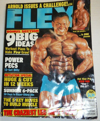 Flex Magazine Kris Dim & Power Pecs June 2004 112114R