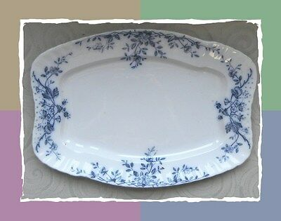 """Classic  """"Mersey"""" Serving Platter by W.H. Grindley & Co."""