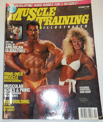 Muscle Training Magazine Frank Giardina & Sherry Goggin October 1990 112114R1