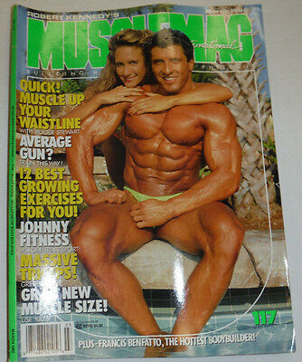 Musclemag Magazine Roger Stewart & Johnny Fitness March 1992 112114R1
