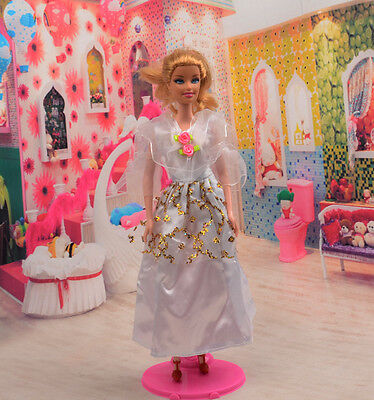 2014 Hot style Fashion Handmade princess  party Clothes dress For Noble Doll D43