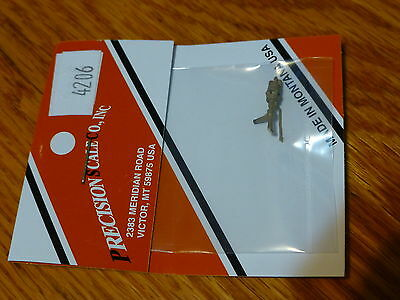 Precision Scale O #4206 Whistle, Left Side Mount (non-working Brass Part)