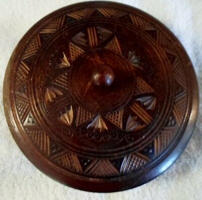 Beautifully Hand Carved Wood Bowl 102395
