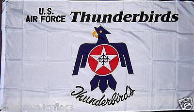 Thunderbirds Air Force Flag 3x5 ft New A.F. military banner gt