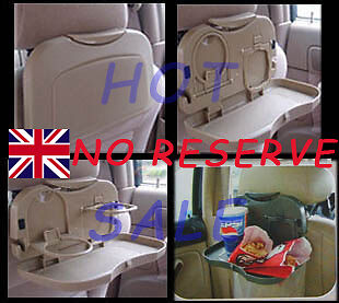 1pc Brand New Car Back Seat Food Meal  Drink Tray Table Stand Holder