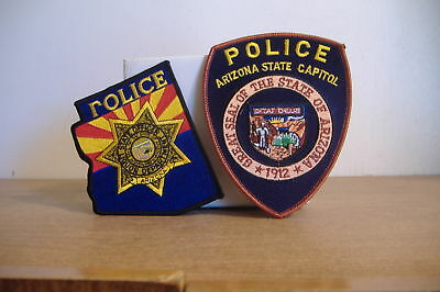 State Capitol & Liquor Officer~Arizona  Police Patches~