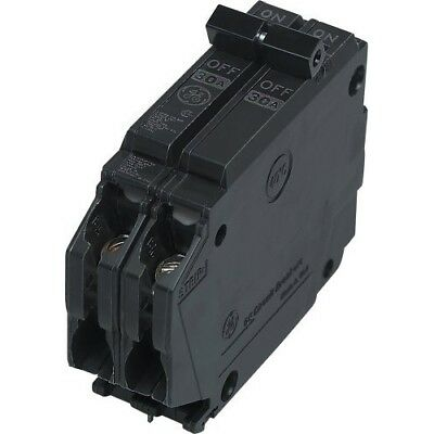 GE THQP230 30A 120/240V 2P Plug-In Circuit Breaker