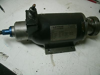 Setco Spindle Motor 6101.5.36By.50697 1.5Hp 460 Vac 3Ph 12000 Rpm