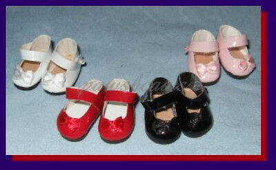 """SAVE 30% on 4 pair of Patent Mary Jane SHOES for 8"""" TINY BETSY McCALL Puki Puki"""