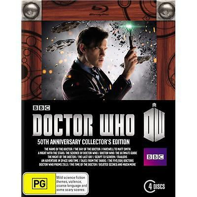 Doctor Who: The 50th Anniversary Collector's Limited Edition Blu ray RB new