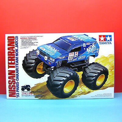 Tamiya 1/32 [WILD Mini 4WD Series] Nissan Terrano 93 Paris-Dakar model kit#17011