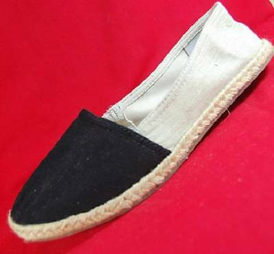 cf56baaa78d Women s SONOMA DONNA Black+Beige Slip On Espadrille Casual Flats Shoes NEW