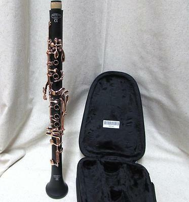 BACKUN ALPHA Bb CLARINET ROSE GOLD PLATED KEYS