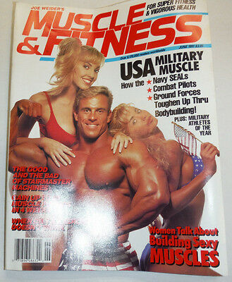 Muscle & Fitness Magazine USA Military Muscle June 1991 112114R1