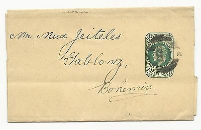 GREAT BRITAIN Postal Stationery FWD Andrew Moore 1902