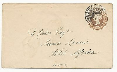 GREAT BRITAIN Postal Stationery 1902 to West Africa