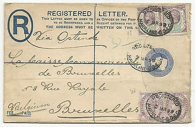GREAT BRITAIN Registered Letter Cover 1899