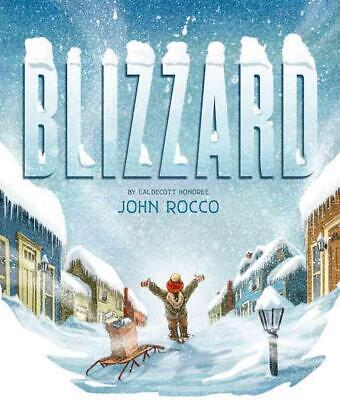 Blizzard by John Rocco (English) Hardcover Book Free Shipping!