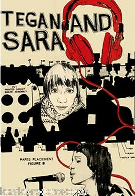 "Tegan and Sara So Jealous Promo Poster 11""x17"""