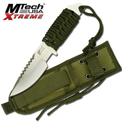 Mtech Xtreme 4.5mm Thick Hunting Survival Knife Full Tang Fixed Blade #8037