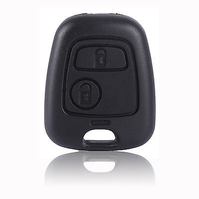 2 Button Remote Key Fob Case Shell New Repair for Peugeot 206
