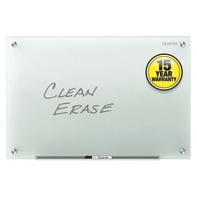 QUARTET G4836F Glass Board, 36inH, 48inW, Frosted White
