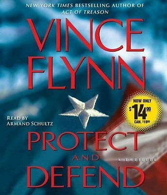 NEW Protect and Defend: A Thriller by Vince Flynn Compact Disc Book (English) Fr