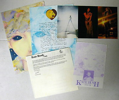 KATE BUSH Kate Bush Tour 1979 UK CONCERT PROGRAMME+ FAN CLUB Kit MINTY! Katy