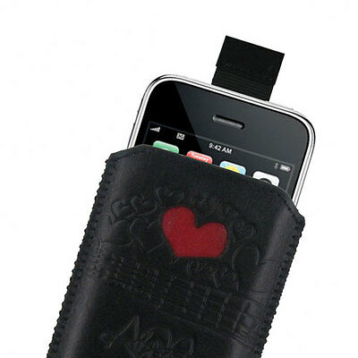 Amy Winehouse designed Leder Slip Schutzhülle Iphone 3G 3GS 4 4S 5 5S
