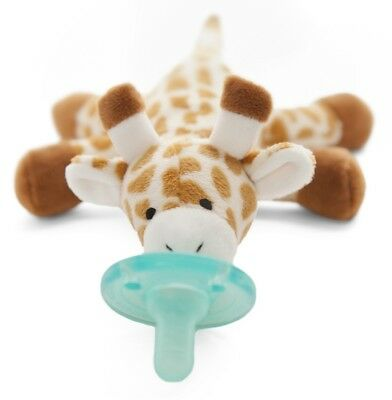 New Wubbanub Infant Baby Soothie PACIFIER Baby Giraffe