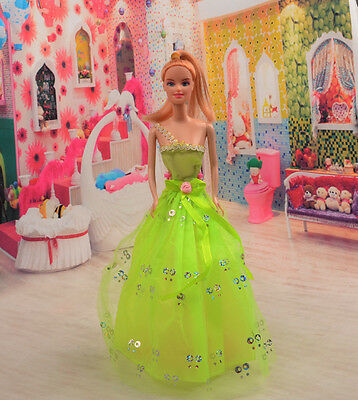 2014 Hot style Fashion Handmade princess  party Clothes dress For Noble Doll D20