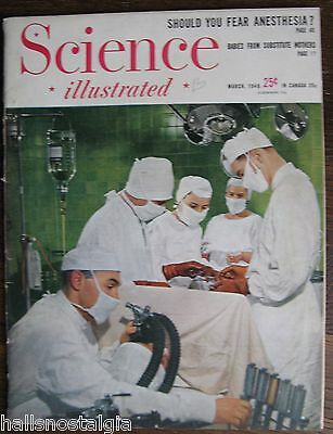 """March 1948 """"Science Illustrated"""" Magazine; 112 pages of interesting articles"""