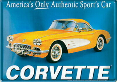 Metal Cards  Corvette
