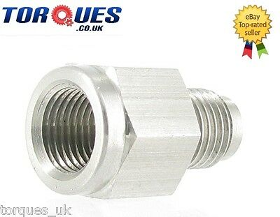 "AN -3 AN3 to 1/8"" NPT Female Stainless Steel Oil Pressure Gauge Take Off Adapter"
