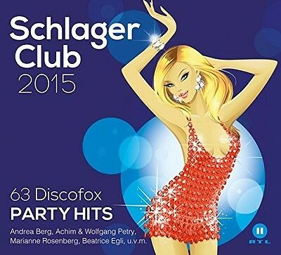 Schlager Club 2015-63 Discofox Party Hits(Best Of 3 Cd Neu