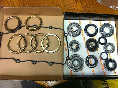 TK 247 Trans Kit   w/Syncro Rings Ford/Mazda M5R1 Trans O.E. Bearings