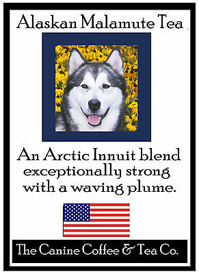 Alaskan Malamute    Tea -   gourmet   tea   in collectible tin