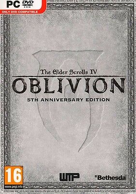 The Elder Scrolls IV: Oblivion 5th Anniversary Edition  (PC, 2011) EU Import