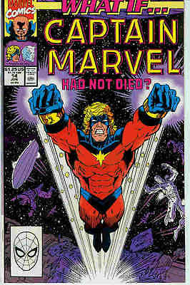 What If (Vol.2) # 14 (Captain Marvel) (USA, 1990)